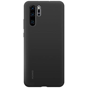 Huawei Silicone Case Noir P30 Pro  Coque arrière semi-rigide en silicone pour Huawei P30 Pro