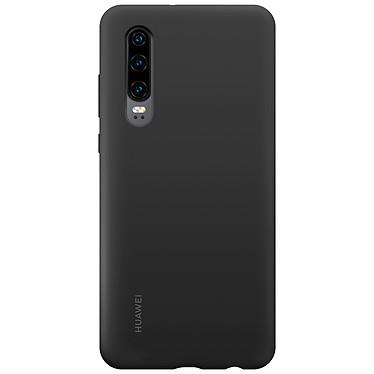 Huawei Silicone Case Magnética Negro P30 Contraportada magnética de silicona rígida para Huawei P30