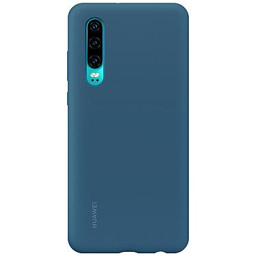 Huawei Silicone Case Aimantée Bleu P30  Coque arrière rigide aimantée en silicone pour Huawei P30