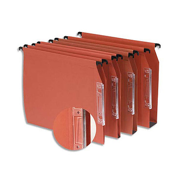 Limas colgantes para armario inferior 30 mm x 25 mm Juego de 25 carpetas colgantes para armario inferior de 30 mm