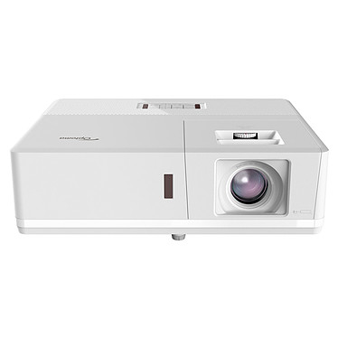 Optoma ZH506 Blanco Proyector láser DLP Full HD 3D Ready IP5X - 5000 lúmenes - Desplazamiento vertical de la lente - Zoom 1,6x - HDMI/VGA/USB/Ethernet - Altavoces integrados