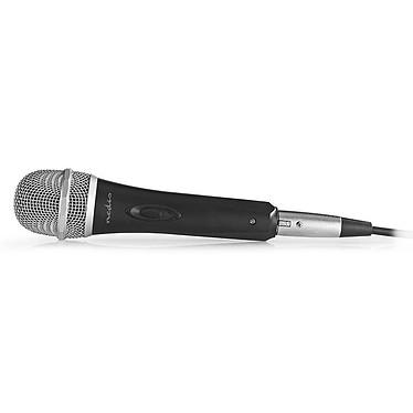 Nedis Microphone Filaire Plastique/Aluminium
