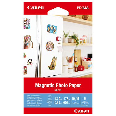 Canon MG-101 Magnético Papel fotográfico magnético 10 x 15 cm (5 hojas)