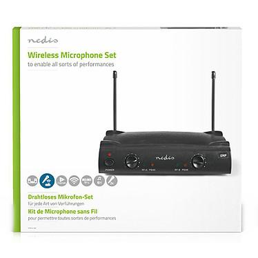 Nedis Kit 2 Microphones Sans Fil pas cher