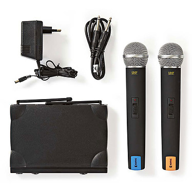 Acheter Nedis Kit 2 Microphones Sans Fil