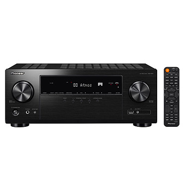 Pioneer VSX-934 Noir Ampli-tuner home cinéma 5.1 - 135W/canal - Dolby Atmos/DTS:X - Virtualisation surround - Hi-Res Audio - 8x HDMI 4K HDCP 2.2 - HDR - Wi-Fi - AirPlay 2 - Bluetooth - Multiroom