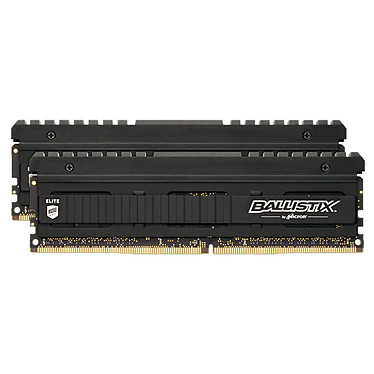 Ballistix Elite 16 Go (2 x 8 Go) DDR4 4000 MHz CL18 Kit Dual Channel RAM DDR4 PC4-32000 - BLE2K8G4D40BEEAK