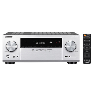 Pioneer VSX-934 Argent Ampli-tuner home cinéma 5.1 - 135W/canal - Dolby Atmos/DTS:X - Virtualisation surround - Hi-Res Audio - 8x HDMI 4K HDCP 2.2 - HDR - Wi-Fi - AirPlay 2 - Bluetooth - Multiroom
