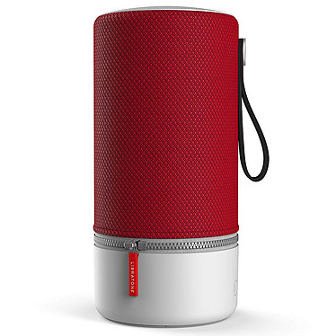 Libratone ZIPP 2 Cranberry Red Enceinte sans fil multiroom - Son 360° - Wi-Fi/Bluetooth - AirPlay 2 - DLNA - Spotify Connect - USB - Amazon Alexa - Autonomie 12 heures