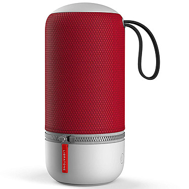 Libratone ZIPP MINI 2 Cranberry Red Sistema compacto de altavoces inalámbricos multizona - sonido de 360° - Wi-Fi/Bluetooth - AirPlay 2 - DLNA - Spotify Connect - USB - Amazon Alexa - duración de la batería: 12 horas