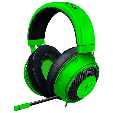 Razer Kraken 2019 (vert) Casque-micro circum-auriculaire fermé avec télécommande pour gamer