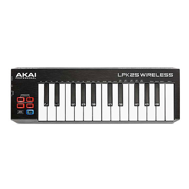 Akai Pro LPK25 Wireless Clavier Bluetooth/USB MIDI 25 touches