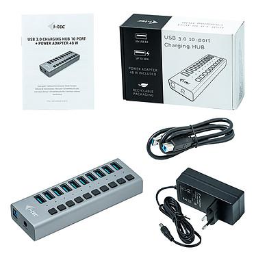 Comprar i-tec USB 3.0 Charging Hub 10 Port + Power Adapter 48W