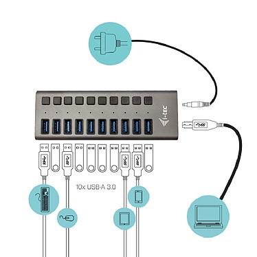 Opiniones sobre i-tec USB 3.0 Charging Hub 10 Port + Power Adapter 48W