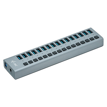 i-tec USB 3.0 Charging Hub 16 Port + Power Adapter 90W Hub de carga hub 16 puertos USB 3.0 hub