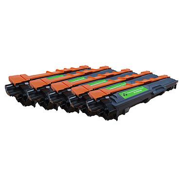 Toner compatible TN-241BK Noir x5 5 toners noirs compatibles Brother TN-241BK (2 500 pages à 5%)