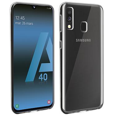 Akashi Coque TPU Transparente Galaxy A40 Coque de protection transparente pour Samsung Galaxy A40