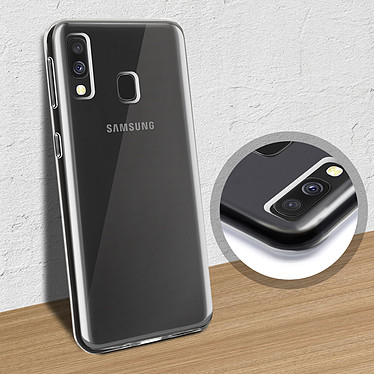 Avis Akashi Coque TPU Transparente Samsung Galaxy A40