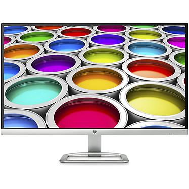 """HP 27"""" LED - 27EA 1920 x 1080 pixels - 7 ms (gris à gris) - Format large 16/9 - Dalle IPS - Dual HDMI - Blanc/Argent"""