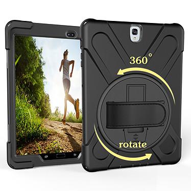 "Akashi Coque Renforcée Samsung Galaxy Tab A 10.5"" Coque renforcée avec support rotatif pour Samsung Galaxy Tab A 10.5"""