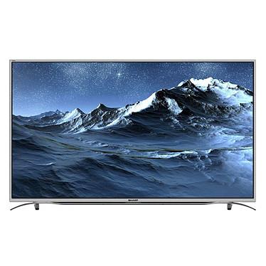 "Sharp LC-55CUF8372ES Téléviseur LED 4K 55"" (140 cm) 16/9 - 3840 x 2160 pixels - Ultra HD 2160p - Wi-Fi - Bluetooth - 600 Hz"