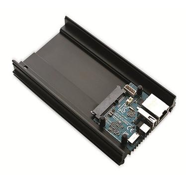 Odroid HC1 Carte mère ultra-compacte avec processeur Exynos 5422 Octo-Core - RAM 2 Go - USB 2.0 - SATA 3 - miroSD - Dissipateur thermique
