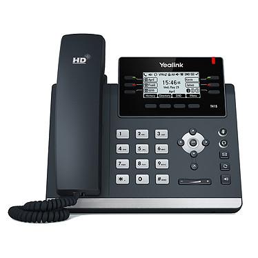 Yealink SIP-T41S Téléphone SIP 6 lignes, PoE, double port Fast Ethernet