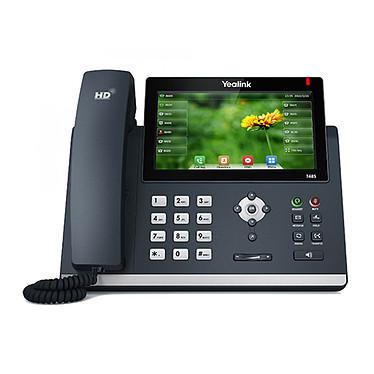 """Yealink SIP-T48S Téléphone SIP avec écran tactile 7"""", PoE, double port Gigabit Ethernet"""