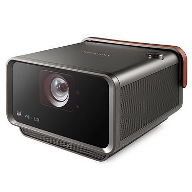 ViewSonic X10-4K Vidéoprojecteur LED DLP 3D Ready - Ultra HD - HDR10 - 2400 lumens - Focale courte - Wi-Fi/Bluetooth/Ethernet - HDMI - USB-C/MicroSD - Son Harman/Kardon - Compatible Alexa/Assistant Google
