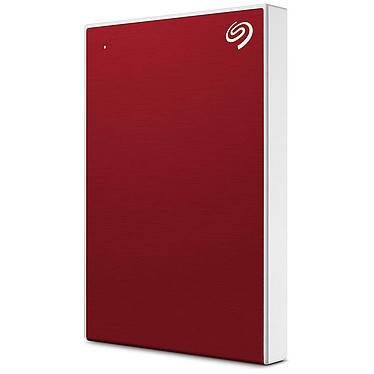 "Seagate Backup Plus Slim 2 To Rouge (USB 3.0) Disque dur portable 2.5"" USB 3.0 pour Windows et Mac"