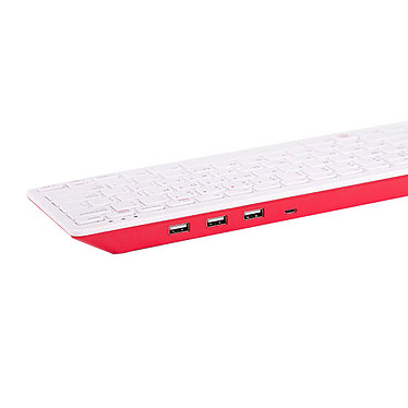 Avis Raspberry Pi Keyboard + Mouse (Blanc)