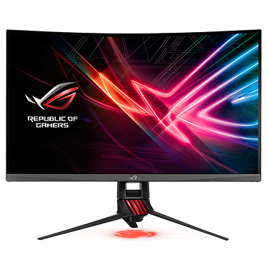 "ASUS 32"" LED - ROG Strix XG32VQ 2560 x 1440 pixels - 4 ms - Format large 16/9 - Dalle VA incurvée - 144 Hz - Ultra Low Blue Light - Flicker Free - HDMI - DisplayPort - FreeSync - Noir"