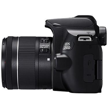 Avis Canon EOS 250D Noir + 18-55 IS STM Noir