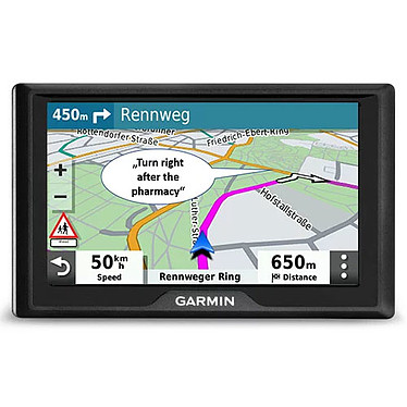 "Garmin Drive 52 LMT-S (Europe du Sud) GPS 15 pays d'Europe Ecran 5.5"" Bluetooth"