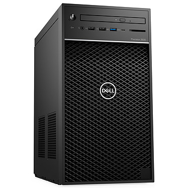 Dell Precision 3630 (JY80P) Intel Core i7-8700K 16 Go SSD 512 Go + HDD 1 To NVIDIA Quadro P2000 5 Go Graveur DVD Windows 10 Professionnel 64 bits (sans écran)