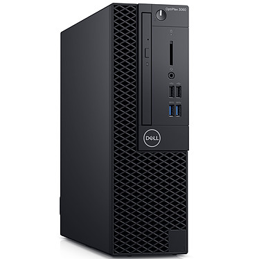 Dell OptiPlex 3060 SFF (Y7062) Intel Core i3-8100 4 Go SSD 128 Go Graveur DVD Windows 10 Professionnel 64 bits (sans écran)