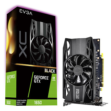 EVGA GeForce GTX 1650 XC Black 4 Go GDDR5 - HDMI/Dual DisplayPort - PCI Express (NVIDIA GeForce GTX 1650)