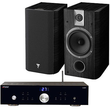 Advance Acoustic X-i50BT + Focal Chorus 605 Black Style