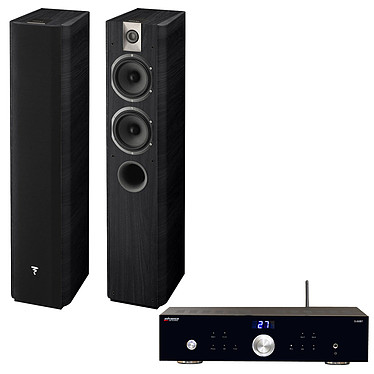 Advance Acoustic X-i50BT + Focal Chorus 615 Black Style