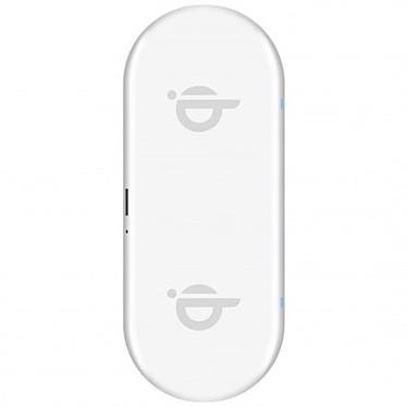 xqisit Double station de charge sans fil 32W (Blanc)