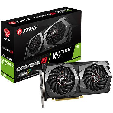 MSI GeForce GTX 1650 GAMING X 4G 4 Go GDDR5 - HDMI/Dual DisplayPort - PCI Express (NVIDIA GeForce GTX 1650)