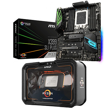 Kit Upgrade PC AMD Ryzen Threadripper 2950X MSI X399 SLI PLUS