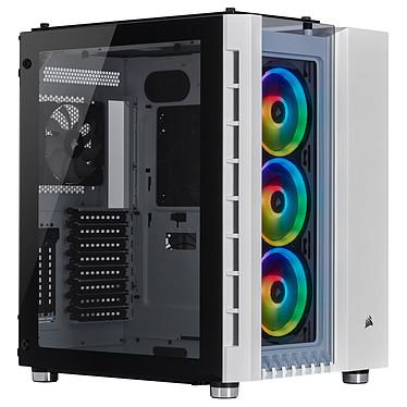 Corsair Crystal 680X RGB - White Boîtier Moyen Tour ATX avec fenêtre en verre trempé et LEDs RGB