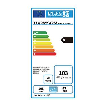Acheter Thomson 43UD6206 Blanc