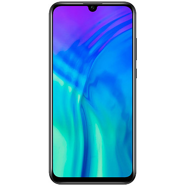 "Honor 20 Lite Noir Smartphone 4G-LTE Advanced Dual SIM - Kirin 710 8-Core 2.2 GHz - RAM 4 Go - Ecran tactile 6.21"" 1080 x 2340 - 128 Go - Bluetooth 4.2 - 3400 mAh - Android 9.0"