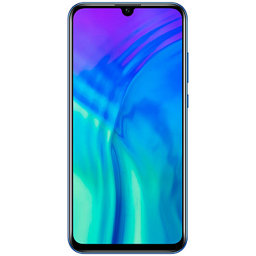 "Honor 20 Lite Bleu Smartphone 4G-LTE Advanced Dual SIM - Kirin 710 8-Core 2.2 GHz - RAM 4 Go - Ecran tactile 6.21"" 1080 x 2340 - 128 Go - Bluetooth 4.2 - 3400 mAh - Android 9.0"