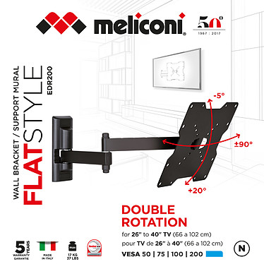Meliconi EDR-200 FLAT pas cher