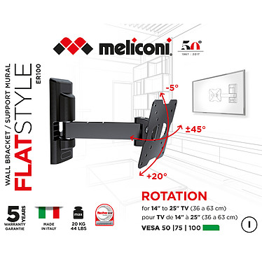 Meliconi ER-100 FLAT a bajo precio