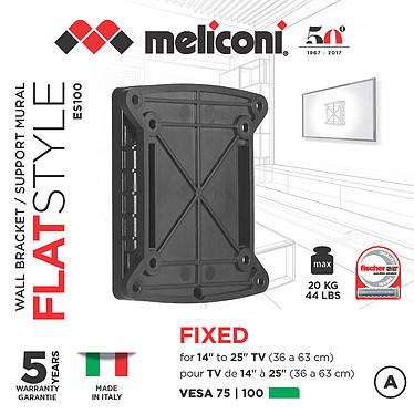 Meliconi ES-100 FLAT pas cher