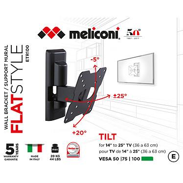 Meliconi ETR-100 FLAT pas cher